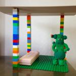 レゴを使ってリカちゃんハウスの構想を練る