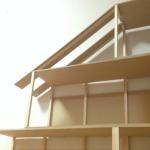 余った壁板を利用して屋根を作る