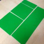 クリケットマットを使ってテラスを作る
