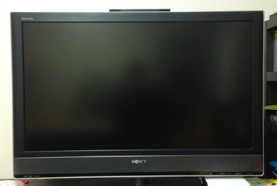 実物液晶テレビ