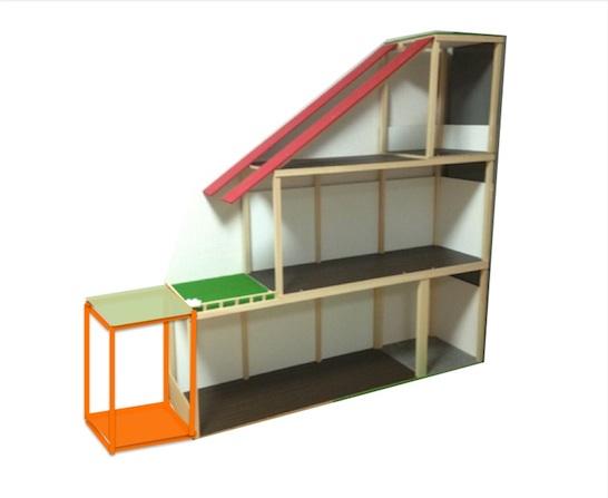 リカちゃんハウス増築計画2
